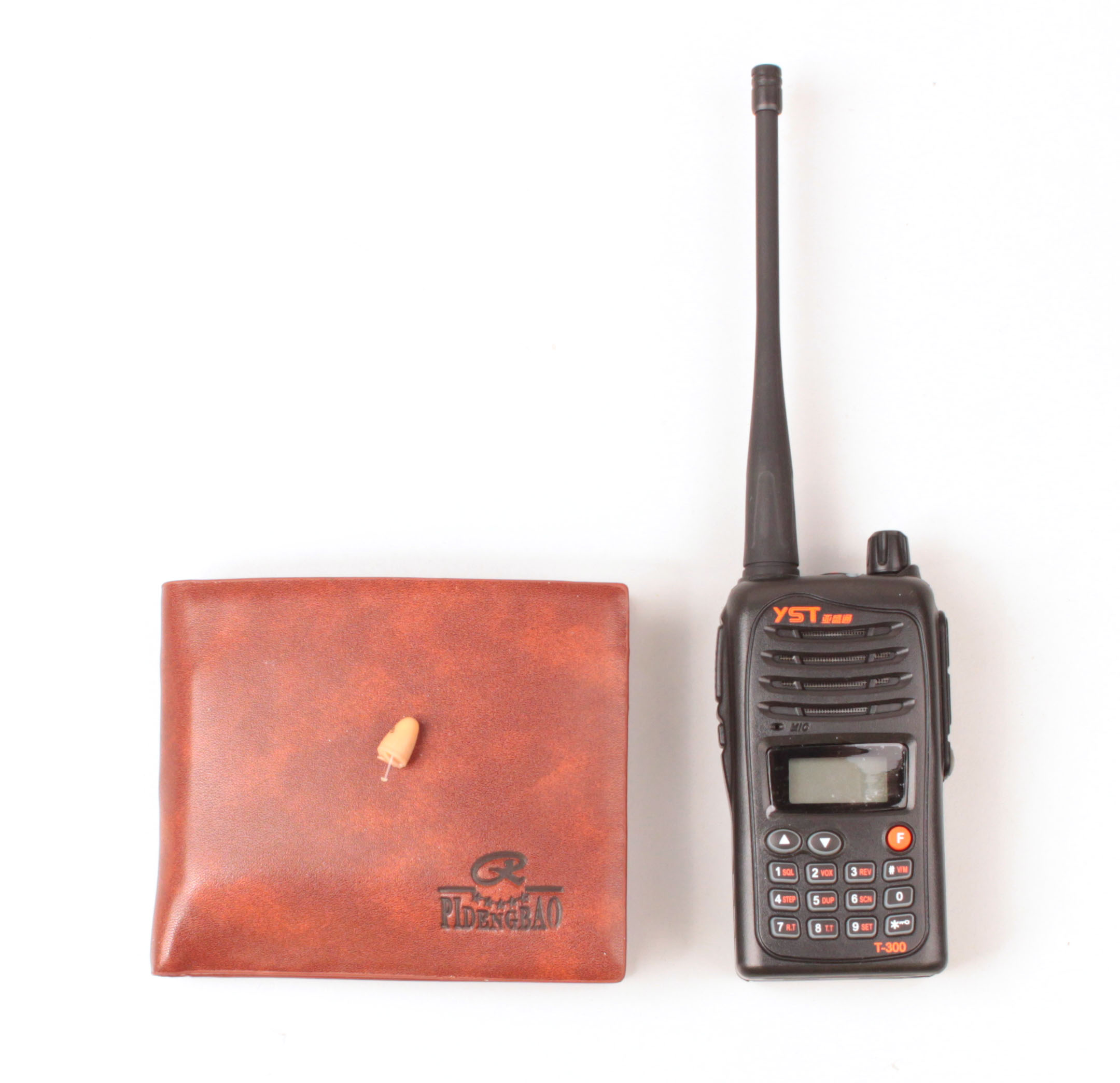 Spy Ear Walkie Talkie Spy Radio Transmission Wallet For Cheat A Test Or Pass Driving Test